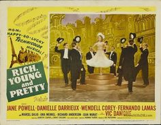 Rich, Young and Pretty - Lobby card