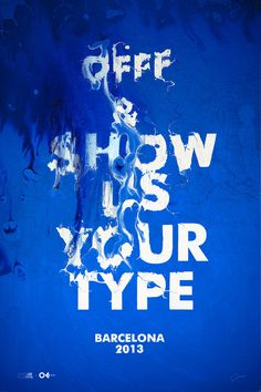 Typeverything.comOFFF #type #water #distorted