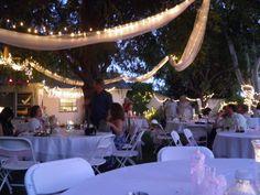 night garden wedding
