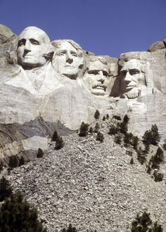 The Mount Rushmore National Memorial is a sculpture carved into the granite face of Mount Rushmore near Keystone, South Dakota, in the United States.