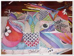 #PROCESO #SERIE técnica a mano  #ART #texturas #colores #lapices