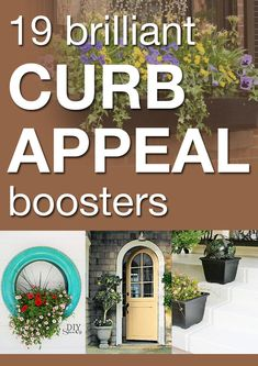 19 brilliant curb appeal boosters. Always speak to an electrician to handle specific curb appeal electricity related projects. Outdoor Projects, Home Projects, Outdoor Living, Outdoor Decor, Vinyl Siding, Sell Your House Fast, Curb Appeal, Home Staging, The Outsiders