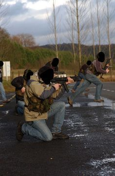 22 SAS Covert Reactive training at PATA in late 90s.