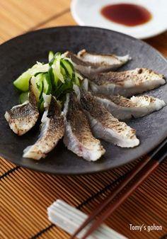 Kamasu (Barracuda) Sashimi カマスの炙り刺身