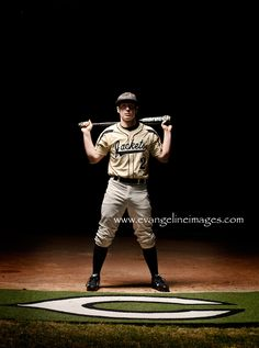 #senior boy baseball pose, night photography    #NoelitoFlow  #Nature…
