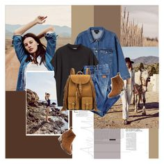 """"""".."""" by margarita-m-a ❤ liked on Polyvore featuring Monki, H&M and Yves Saint Laurent"""