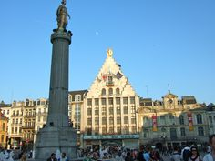 Lille is a charming student-friendly town.