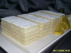 Prajitura Alba ca Zapada - Culinar. Sweets Recipes, Just Desserts, Cooking Recipes, Romanian Food, Romanian Recipes, Best Cheese, Appetizers For Party, Cake Cookies, Vanilla Cake