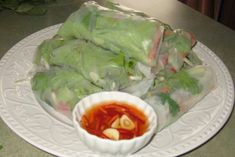 Fresh Spring Rolls & Dipping Sauce
