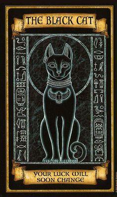 Madame Endora Fortune Telling Cards - The Black Cat.
