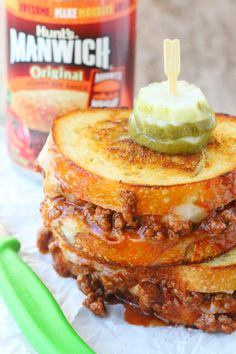 how to make the best sloppy joes with manwich