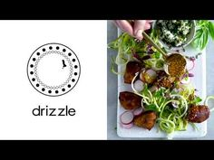 Introducing the family-friendly salad Fresh Coriander, Fritters, Food Videos, Salad, Vegetables, Recipes, Fried Dumplings, Beignets, Veggies