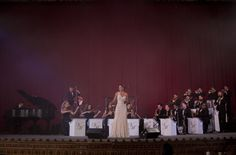 The Big Band/Orchestra on stage at   The United Palace Theatre, NYC  Photo by Natural Expressions NY