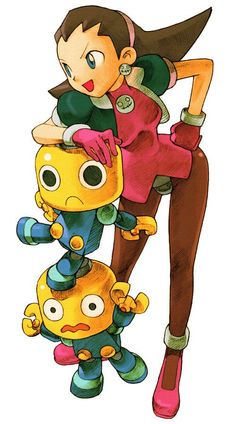 "Tron Bonne in ""Marvel vs. Capcom 2: New Age of Heroes"" (Capcom 2000) ✤ 