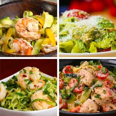 """Get The Most Out Of Your Summer Zucchini Harvest With These Low-Carb Zucchini """"Pasta"""" recipes. Healthy Recipes, Vegetable Recipes, Low Carb Recipes, Diet Recipes, Cooking Recipes, Raw Recipes, Quick Recipes, Recipes Dinner, Summer Recipes"""