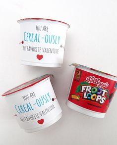 'You are Cereal-ously My Favorite Valentine'- FREE Printable!