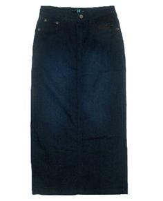 Perfect Denim Skirt   Denim   Virtuous Closet   00047