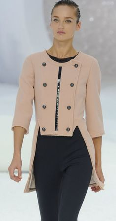 Chanel. I love the cut of the jacket