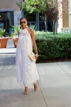Mama's Girl shuts it down for the Nina Ramel Collection! — My Daily Threadz All White Outfit, White Outfits, White Dress, All White Party, Baby Models, African Print Fashion, Mode Style, African Dress, White Fashion