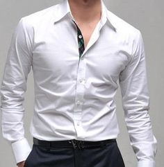 Мужская рубашка из хлопка