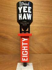 "Yee-Haw Brewing Co Yeehaw Eighty Tap Handle Grain Silo New & F/Shipping 11"" Tall"