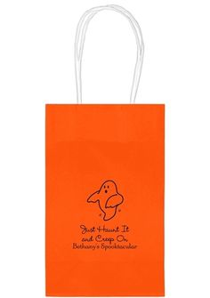 The Friendly Ghost Medium Twisted Handled Bags