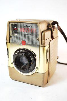 Kodak Brownie Bull's Eye Gold #vintage #camera