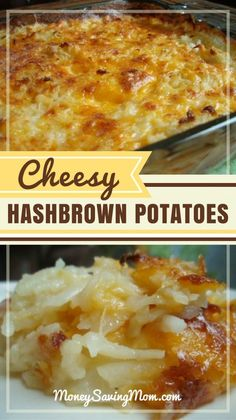 Cheesy Hashbrown Potatoes | Money Saving Mom®