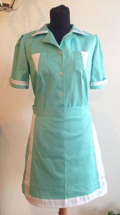 Twin peaks green waitress dress shelly johnson diner by Biantika