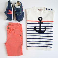 Sweatshirt & Tomato slim jean by #emileetida + #véja nautico arcade #sneakers <3 available @French Pascucci Czachor Blossom