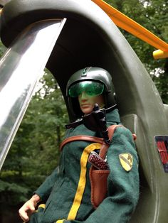Action Man Helo Pilot in the Irwin Chopper