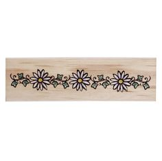 Daisy Chain - possible anklet tattoo? probably have to repeat the pattern (would like design to remain small).