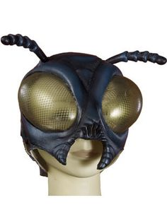 Adult The Fly Full Overhead Latex Costume Insect Mask - Standard size from BlockBuster Costumes - These awesome overhead Fly latex Insect masks from Forum are sweet. Latex Costumes, Easy Costumes, Adult Costumes, Cosplay Costumes, Halloween Costumes, Costume Ideas, Halloween Ideas, Halloween 2015, Ant Costume