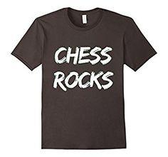 Amazon.com: Funny Chess Shirt: CHESS ROCK T-shirt: Clothing