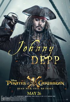'Pirates of the Caribbean 5' drops new characterposters
