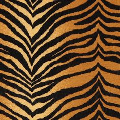 Tiger Print Upholstery Fabric
