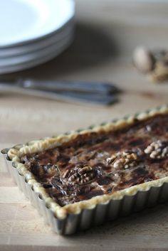 Torta Salata al Radicchio e Noci