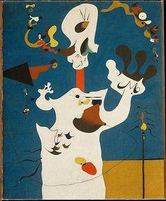 """""""The Potato"""", 1928, Joan Miró."""