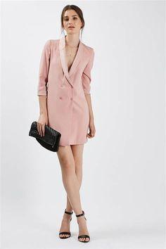 Soft Tailored Blazer Dress - Black Friday Weekend - Sale & Offers - Topshop USA Source by Dress Blazer Fashion, Suit Fashion, Curvy Fashion, Girl Fashion, Fashion Outfits, Womens Fashion, Fashion Top, Fashion Styles, Fashion Boots