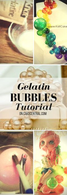 Step by Step Instructions for making Gelatin Bubbles List of Materials Water Balloons unflavored gelatin forceps or tweezers duct tape...
