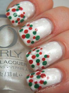 chritsmas nail design | Christmas Nails