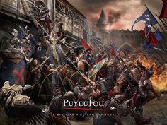 Le Puy du Fou, campagne d'affichage 2015