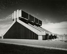 Heating and Cooling Plant | 1967 | University of Regina, Saskatchewan, Canada | Architect Clifford Wiens