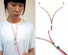 No more tangles. YI Sound -  the zipped earphones,