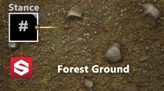 Forest Ground - Substance Designer Material Breakdown
