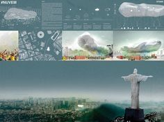 [A3N] : Symbolic World Cup Structure Competition - RIO DE JANEIRO (3rd :NUVEM ) /  Lukas Specks, Gonzalo Lizama, Onur Özdemir (Germany)