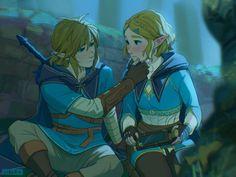 The Legend Of Zelda, Legend Of Zelda Breath, Image Zelda, Princesa Zelda, Link Art, Hyrule Warriors, Link Zelda, Twilight Princess, Breath Of The Wild