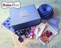 BAKE BOX the subscription kit for bakers & cake decorators - reviewed on Culinary Travels