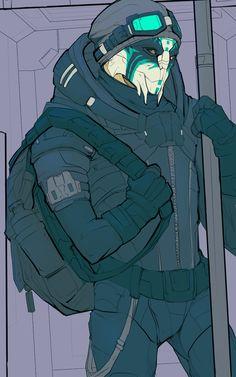 (Tremesius, Turian Adept, Sybil's ex-boyfriend, enemy of Aralakh family.) Mass Effect,фэндомы,ME OC,ME art