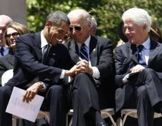 President Obama, Vice President Biden & former President Clinton 8/28/2013 at the MLK Jr. 50th year anniversary March/Tribute.